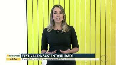 Nova Friburgo, RJ, terá Festival da Sustentabilidade até domingo - Assista a seguir.