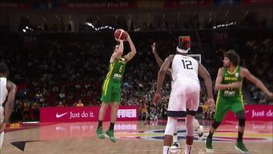 Brasil perde para os Estados Unidos e é eliminada da Copa do Mundo de basquete - Brasil perde para os Estados Unidos e é eliminada da Copa do Mundo de basquete