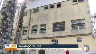 Marcelo Braune apresenta ações de sua gestão na secretaria de Saúde de Nova Friburgo - Balanço saúde.