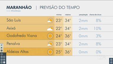 Confira as variações do tempo nesta segunda-feira (9) no Maranhão - Veja como deve ficar o tempo e a temperatura em São Luís e no Maranhão.