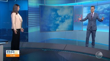 Jéssica Senra agradece aos baianos por acompanharem o Jornal Nacional de sábado - Confira como foi a participação da apresentadora do Bahia Meio Dia no telejornal mais importante do país.
