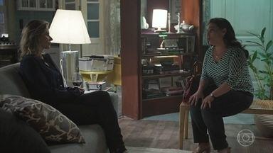 Aline pede que Letícia a ajude a trazer Benjamin de volta para casa - Letícia aceita as desculpas dela, mas diz que não vai se meter nas decisões dele