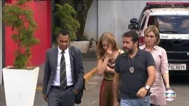 Polícia indicia Najila Trindade, que acusava Neymar de estupro - O inquérito é um desdobramento do caso em que ela acusava o jogador. O ex-marido da modelo também foi indiciado.