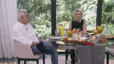 Programa de 11/09/2019 - Antonio Fagundes toma café da manhã com Ana Maria Braga e fala sobre o podcast que comanda no Gshow, o 'Clube do Livro do Fagundes', revê entrevista da mãe e conta mais sobre o Alberto de 'Bom Sucesso'