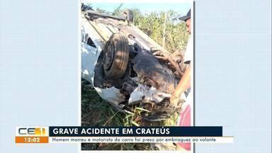 Homem morre em acidente em Crateús - Saiba mais em g1.com.br/ce