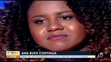 Juazeirense emocionou técnicos e é escolhida na rodada de fogo do The Voice Brasil - Saiba mais em g1.com.br/ce