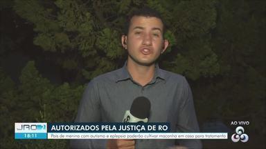 Casal é autorizado a cultivar maconha para tratamento da filha autista em Ji-Paraná - Tribunal de Justiça informou sobre a decisão liminar nesta quarta-feira (11).