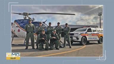 Sete policiais militares de Minas estão na Amazônia para ajudar no combate a queimadas - A equipe da Polícia Militar de Minas Gerais foi para a base aérea da Serra do Cachimbo, no Pará, no último sábado.