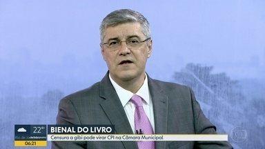 Tentativa de censura de Crivella na Bienal pode acabar em CPI - O vereador Renato Cinco, do PSOL, protocolou um pedido para a criação de uma Comissão Parlamentar de Inquérito.