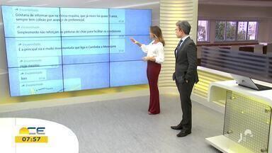 Veja a participação do telespectador nesta quinta-feira (12) - Saiba mais em g1.com.br/ce