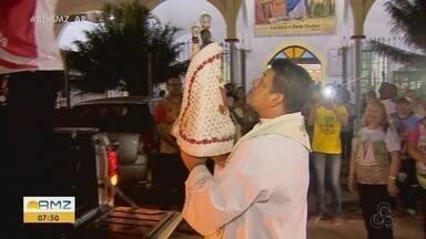 Imagem de Nossa Senhora de Nazaré faz peregrinação em paróquias de Macapá - Imagem de Nossa Senhora de Nazaré faz peregrinação em paróquias de Macapá