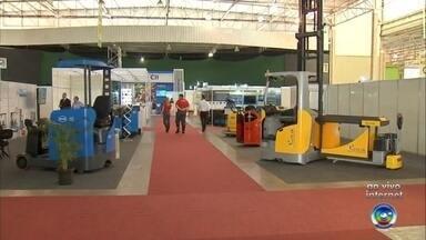 Feira de logística é realizada em Jundiaí - Uma feira de logística está sendo realizada em Jundiaí (SP) nesta semana.