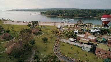 Corrida, ciclismo e natação no Ultramacho no Lago do Manso - Corrida, ciclismo e natação no Ultramacho no Lago do Manso.