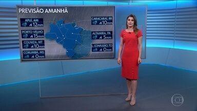Eliana Marques mostra como fica o tempo nesta sexta (13/09) - Eliana fala sobre as cidades que estão no centro das queimadas. E mostra que a previsão é de queda da temperatura no Sul e Sudeste.