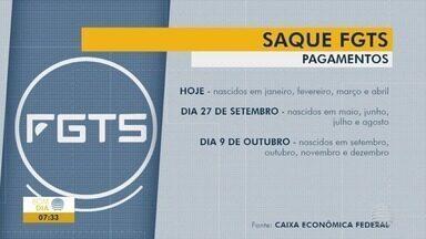 Pagamento do FGTS começa nesta sexta-feira - Depósito será automático para quem tem poupança na Caixa.