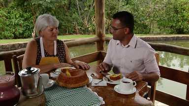 Assista ao bloco 03 do Caminhos do Campo do dia 14 de setembro de 2019 - Aprenda a receita de bolo de fubá com laranja
