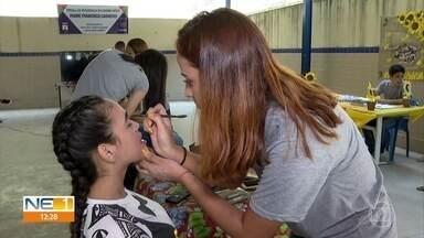 Alunos de escola em Olinda ajudam a melhorar autoestima dos colegas - Projeto Girassol, de valorização da vida, é exemplo de amor e cuidado entre jovens.