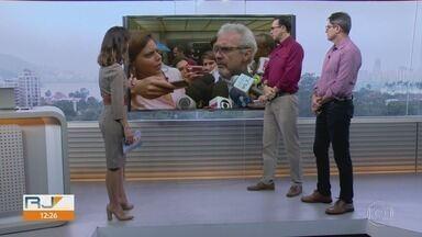 RJ1 - Edição de sexta-feira, 13/09/2019 - O telejornal, apresentado por Mariana Gross, exibe as principais notícias do Rio, com prestação de serviço e previsão do tempo.
