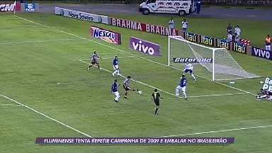 Fluminense espera repetir campanha mágica de 2009 para embalar no Brasileiro - Fluminense espera repetir campanha mágica de 2009 para embalar no Brasileiro