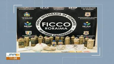 Quadrilha é presa com 21 Kg de cocaína e R$ 7 mil em Boa Vista - Ao todo, nove pessoas foram presas e um adolescente apreendido durante ação do Ficco nesta quarta-feira (11); havia brasileiros e venezuelanos no grupo.