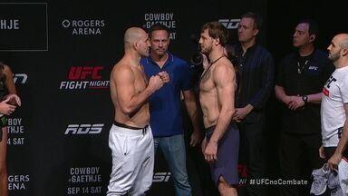 Pesagem UFC Vancouver: Glover Teixeira x Nikita Krylov pelo meio-pesado - Pesagem UFC Vancouver: Glover Teixeira x Nikita Krylov pelo meio-pesado