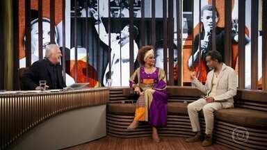 Luciana Mello e Jair Oliveira falam sobre a morte de Jair Rodrigues - Os dois também falam sobre a relação com o pai