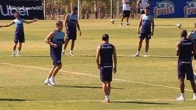 Goiás tem mudanças na escalação para enfrentar o Grêmio - Além de Marcelo Rangel no gol, Verdão pode ter três atacantes
