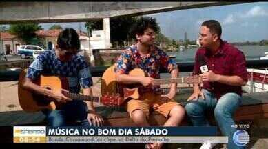 Banda Carnawood faz clip no Delta do Parnaíba - Banda Carnawood faz clip no Delta do Parnaíba