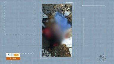 Corpo de bebê é encontrado em terreno baldio em Nossa Senhora do Socorro - Corpo de bebê é encontrado em terreno baldio na Grande Aracaju.