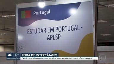 Feira de intercâmbio em São Paulo - 300 expositores oferecem vagas para cursos de idiomas, pós-graduação e intercâmbio cultural.