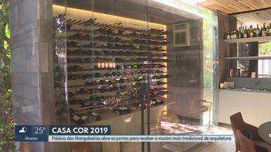 Casa Cor reúne tendências de arquitetura e delícias gastronômicas - Edição da mostra tem ainda oficinas e muitas atrações. Casa Cor pode ser visitada até 13 de outubro.