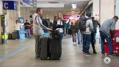 A partir deste domingo (15) Terminal 2 do aeroporto Salgado Filho encerra suas atividades - Assista ao vídeo.