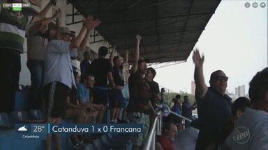Francana perde para o Catanduva na 4º divisão do Campeonato Paulista - Jogo aconteceu fora de casa e terminou em 1 a zero.