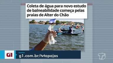 Estudo de balneabilidade em Alter do Chão é destaque no G1 Santarém - Confira esta e outras notícias acessando o portal.