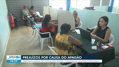 Mesmo após apagão, moradores de iranduba e Manacapuru sentem reflexos de prejuízos - Apagão de sete dias ocorreu em julho