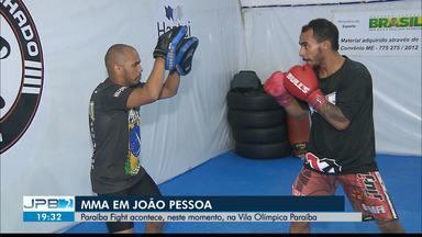Paraíba Fight acontece na Vila Olímpica Paraíba, em João Pessoa - Confira os detalhes com o repórter Lucas Barros.