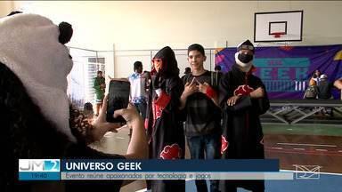 Evento de cultura geek é realizado em São Luís - Evento realizado neste sábado (14) no Sesc da Deodoro reuniu jovens e adolescentes apaixonados por tecnologia e pela cultura pop oriental.