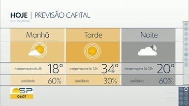 Sol e calor nesta última semana de inverno - Na capital os termômetros chegam a marcar 34 graus.