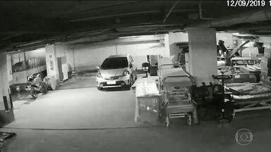 Vídeos mostram que evacuação do Hospital Badim levou mais de 8 minutos para começar - Período registrado por câmeras obtidas pelo Fantástico não mostra alarme aparente ou tentativa de evacuação de pacientes.