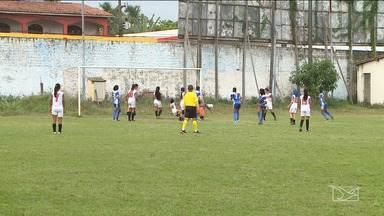 Time feminino do Boa Vontade estão na semifinal do Torneio Emanuel Santos de Futebol - Jogadoras golearam as adversárias em jogo realizado neste fim de semana.