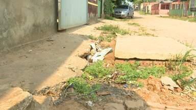 Moradores reclamam de obra que deixou transtornos em rua de Rio Branco - Moradores reclamam de obra que deixou transtornos em rua de Rio Branco