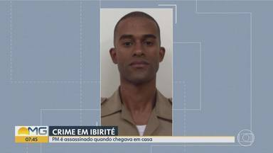 Policial militar é assassinado a tiros em Ibirité, na Grande BH - Uma mulher e um bebê também ficaram feridos.