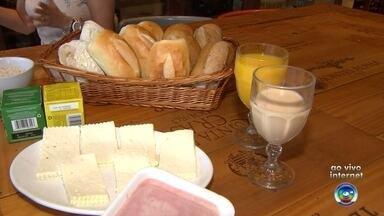 Bom Dia Cidade mostra café da manhã saudável - O Bom Dia Cidade mostra um café da manhã saudável mesmo sem abrir mão do café e do pão.