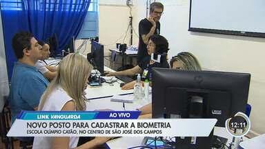 São José tem novo ponto de cadastro de biometria - Há novos pontos de cartório itinerante.