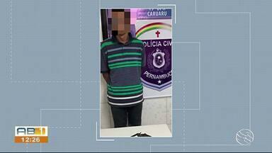 Um dos suspeitos de participar de tentativa de latrocínio em Caruaru é preso - Durante a tentativa de latrocínio um sargento reformado foi baleado e um outro suspeito morreu.