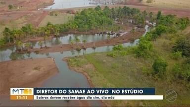 Racionamento de água é preventivo, diz Samae - Racionamento de água é preventivo, diz Samae