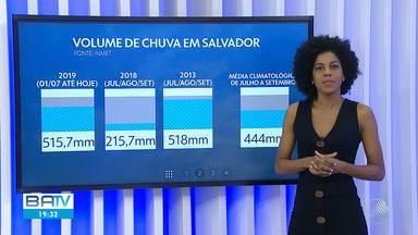 Confira a previsão do tempo para Salvador e interior do estado - Há previsão de chuva rápida no litoral baiano, na quarta-feira (18).