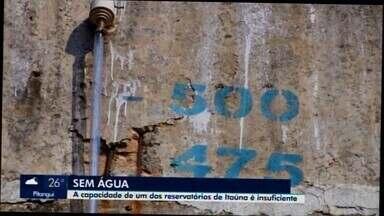 Racionamento de água afeta moradores de Itaúna - Ação visa equilibrar o fornecimento para alguns bairros do município. O Saae informou que não há previsão para normalizar o problema e pede um consumo consciente.