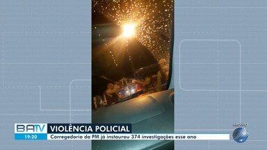 Corregedoria já instaurou 374 investigações para apurar denúncias contra PMs em 2019 - Investigações são para esclarecer fatos relacionados a agressão física, ofensas e ameaças atribuindo a agentes da Polícia Militar.