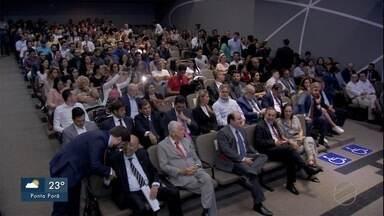 Ministro do TSE faz palestra em Campo Grande - Ministro do Tribunal Superior Eleitoral faz palestra na capital de MS.